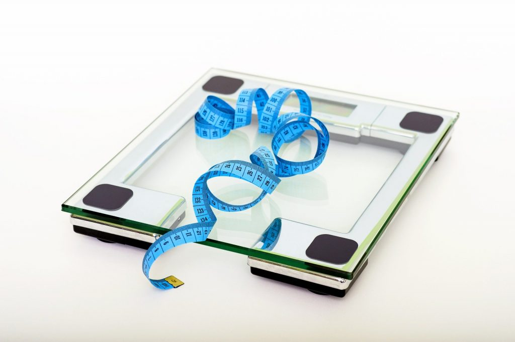 scale lose weight